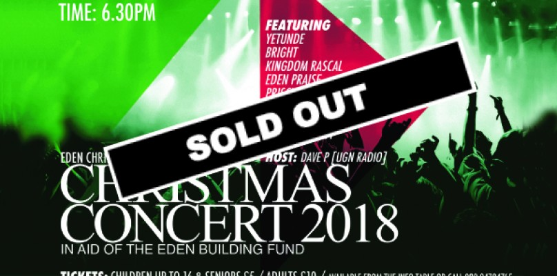 CHRISTMAS CONCERT / SAT 15TH DECEMBER @ CONNAUGHT RD, ILFORD IG1 1RN